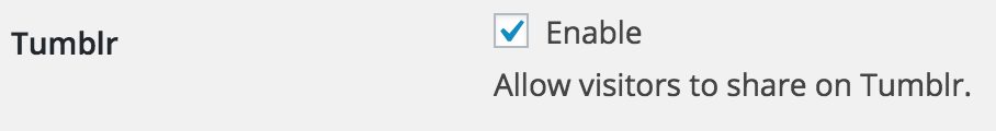 You can disable social platforms via the Share This settings tab